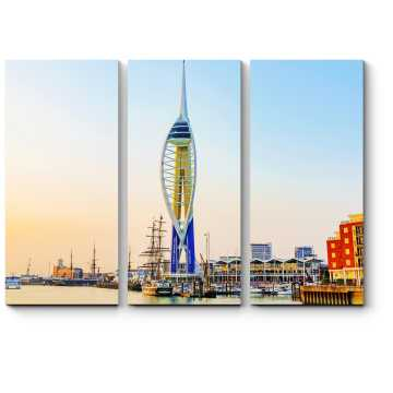 Башня в порту Портсмута, Англия
