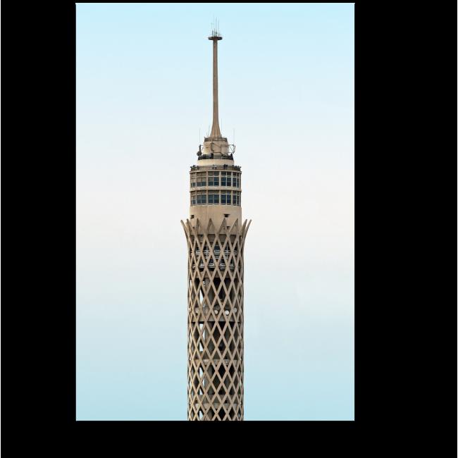 Модульная картина Высокий шпиль