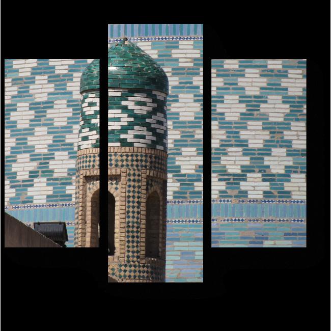 Модульная картина Мозаика на башнях