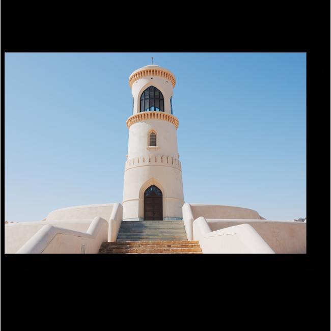 Модульная картина Cмотровая башня в Омане