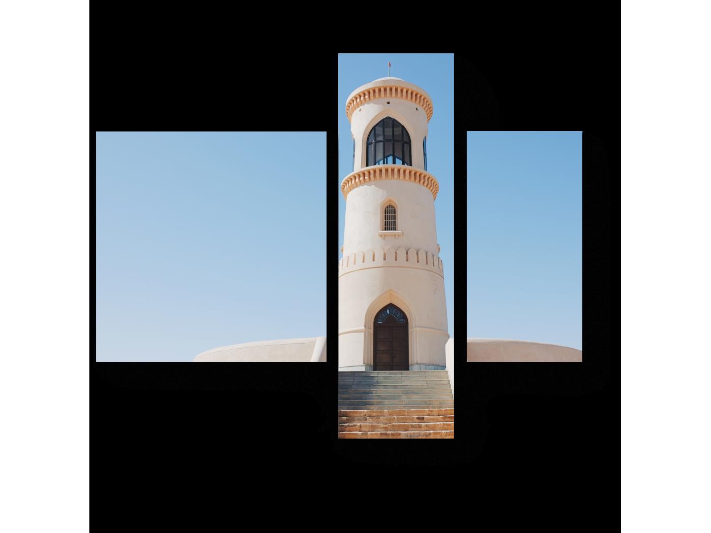 Модульная картина Cмотровая башня в Омане (80x66) фото