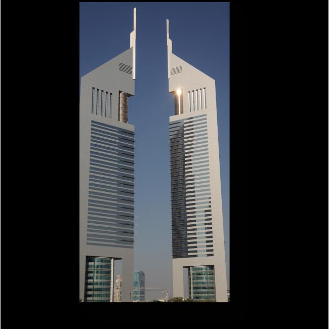 Модульная картина Башни в Дубае