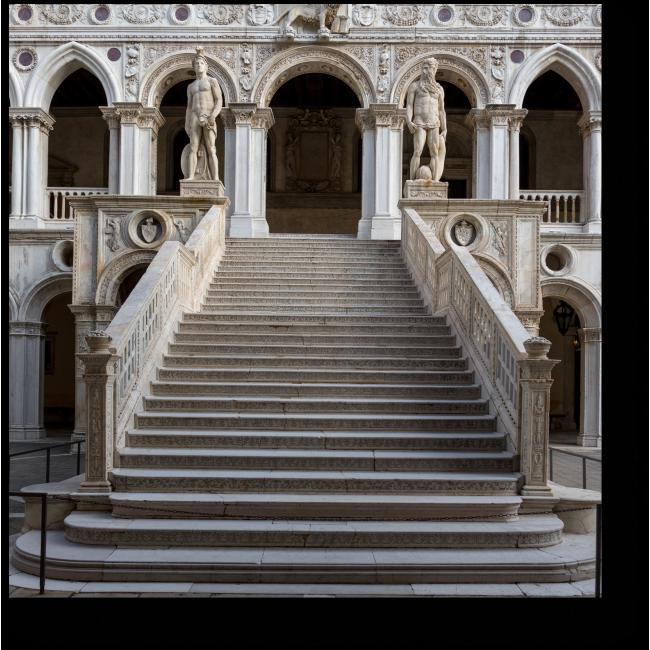 Модульная картина Лестница гигантов во Дворце Дожей