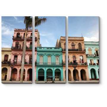 Модульная картина Архитектура на Пасео дель Прадо