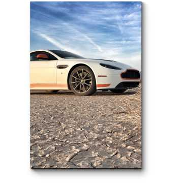 Aston-Martin в пустыни