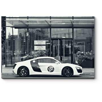 Модульная картина Audi R8