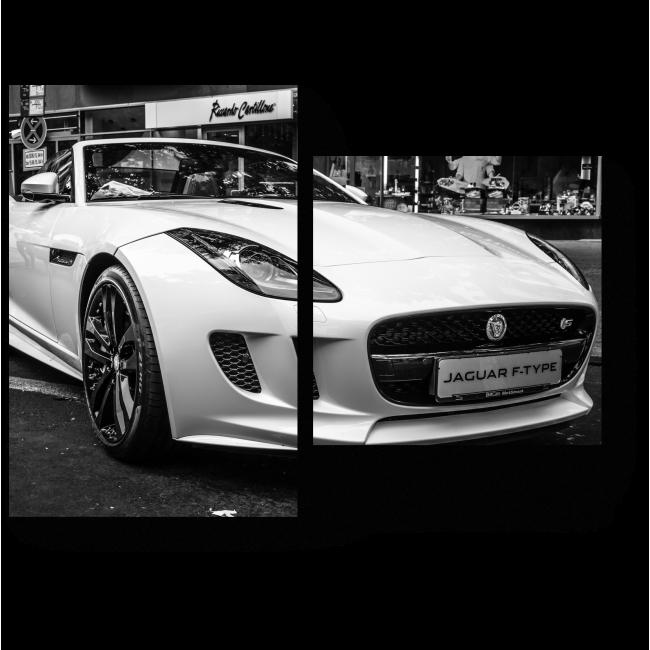 Модульная картина Jaguar F-Type V8S