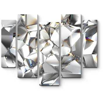 Модульная картина Сияние серебра