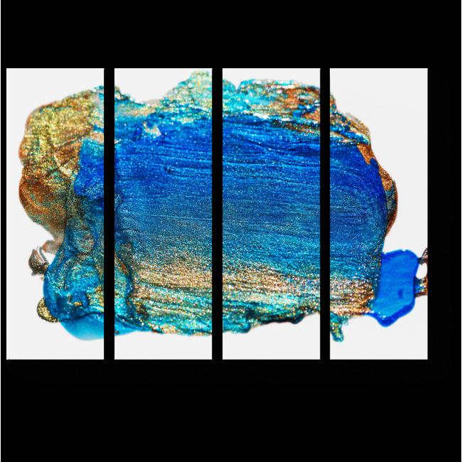 Модульная картина Блеск холодного металла