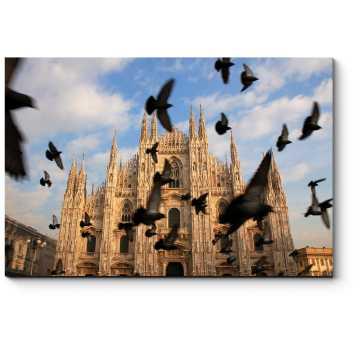 На соборной площади, Милан