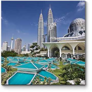 Башни-близнецы в центре Куала-Лумпур