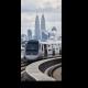 Надземный поезд в Куала-Лумпур