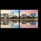 Пастельный закат в Куала-Лумпур
