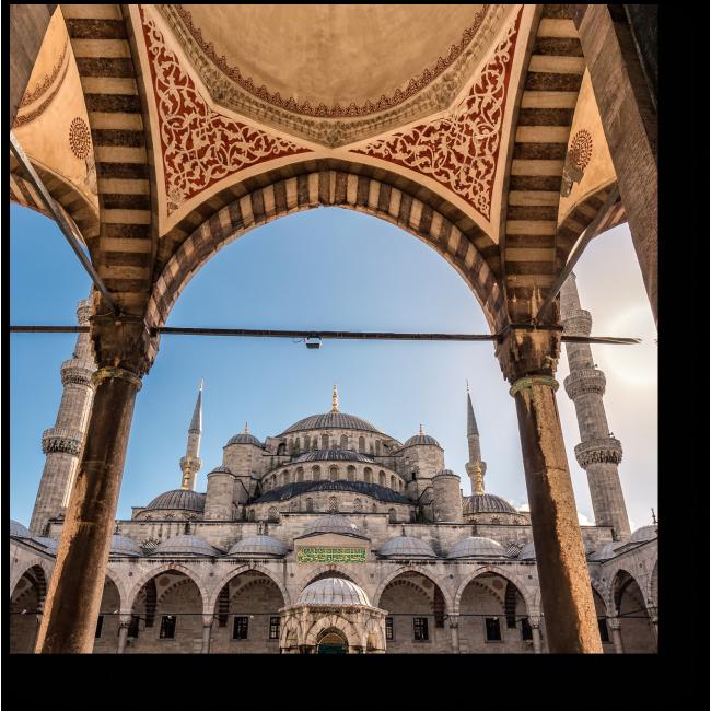 Модульная картина Душа Стамбула