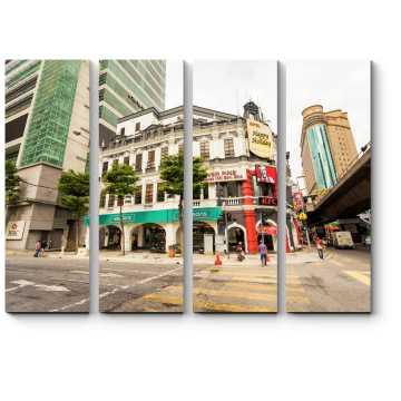 На улицах Куала-Лумпур