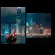 Ночные огни Гонконга