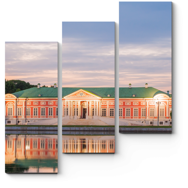Модульная картина Загородный дворец, Кусково