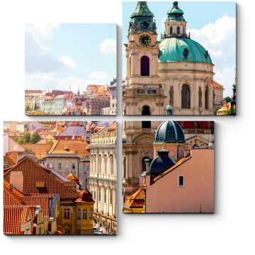 Модульная картина Великолепная Прага
