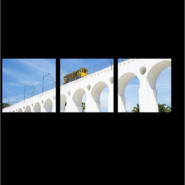 Модульная картина Солнечный Рио-де-Жанейро