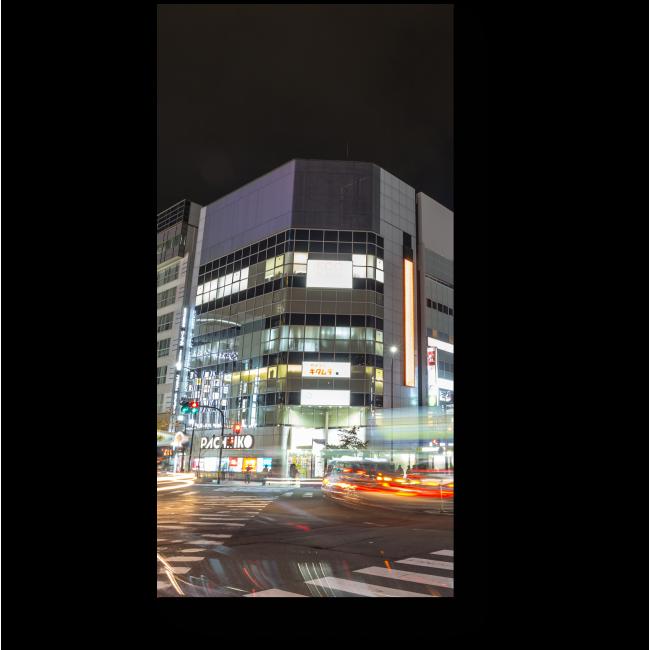 Модульная картина Ночной Киото