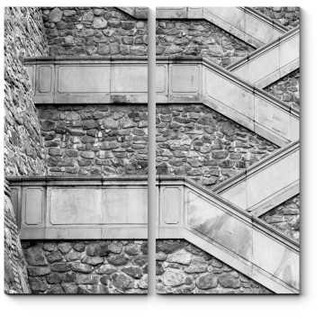 Необычная лестница в Братиславе