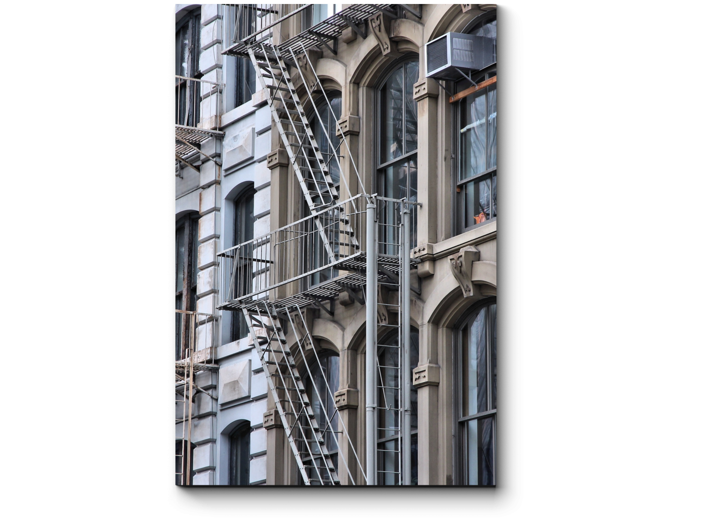 Модульная картина Пожарная лестница в Сохо (20x30) фото