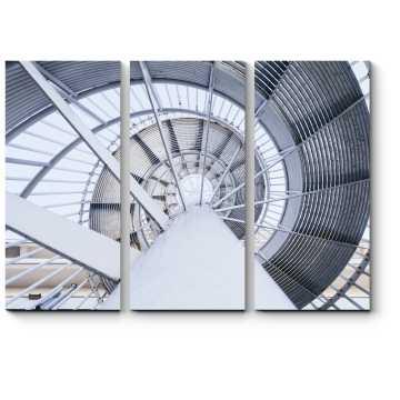 Стальная спиральная лестница