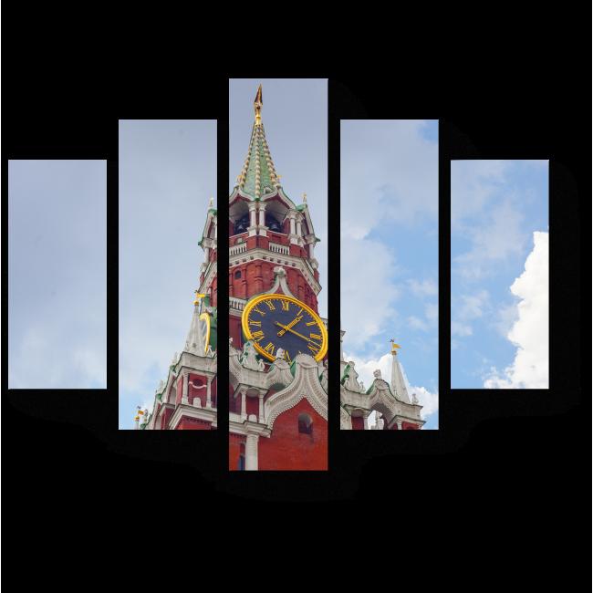 Модульная картина Спасская Башня, Москва