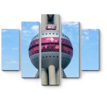 Китайская современная башня