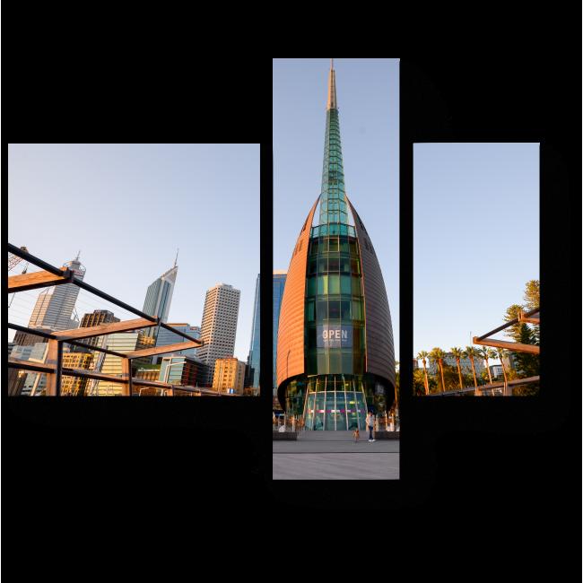 Модульная картина Австралийская башня