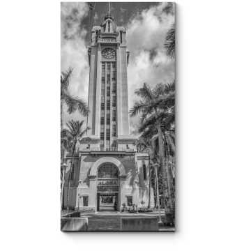 Башня среди пальм