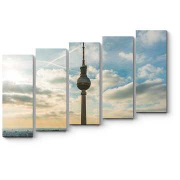 Модульная картина Берлинская телебашня