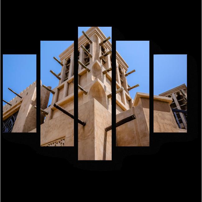 Модульная картина Арабский стиль архитектуры