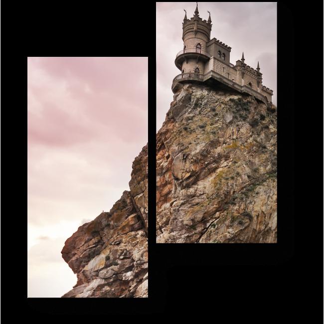 Модульная картина Замок Ласточкино гнездо