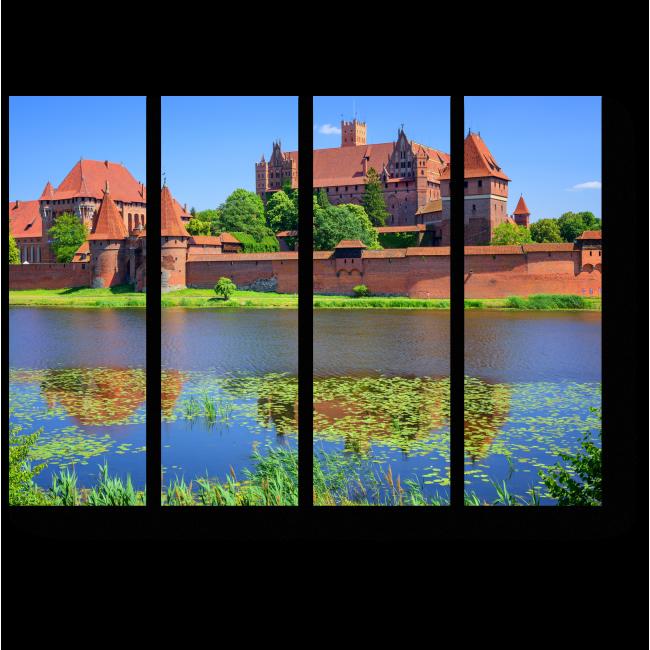 Модульная картина Замок Тевтонского ордена в Мальборке