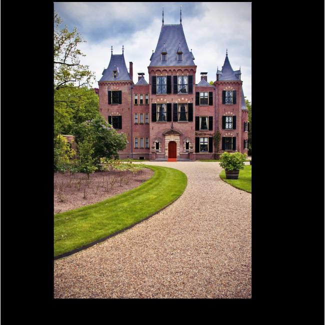 Модульная картина Красивый замок в Голландии