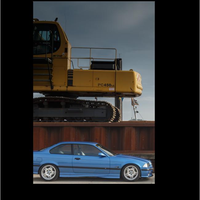Модульная картина BMW серии М в Нидерландах