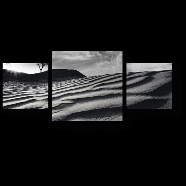 Модульная картина Пустыня в Арабских Эмиратах