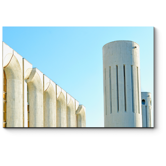 Модульная картина Футуристические башни