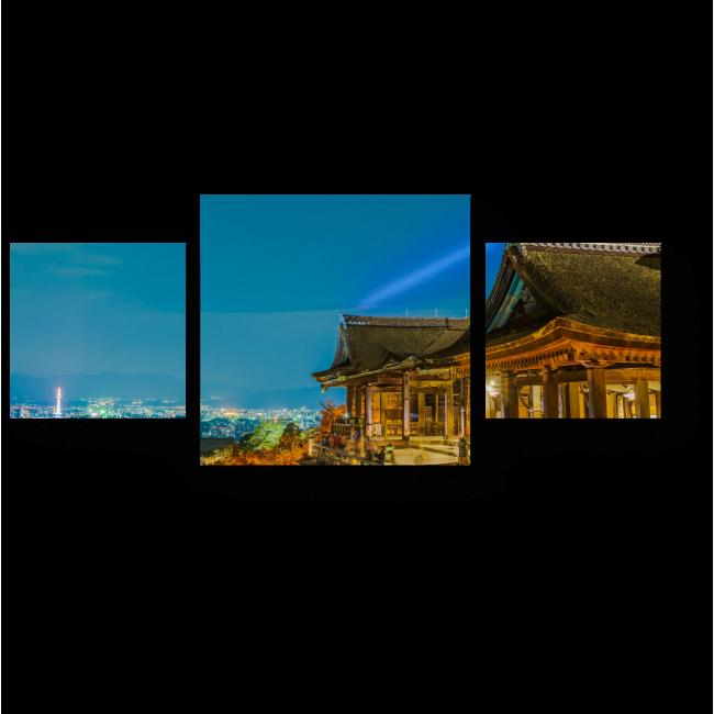 Модульная картина Прекрасный Киомицу-Дэра, Киото