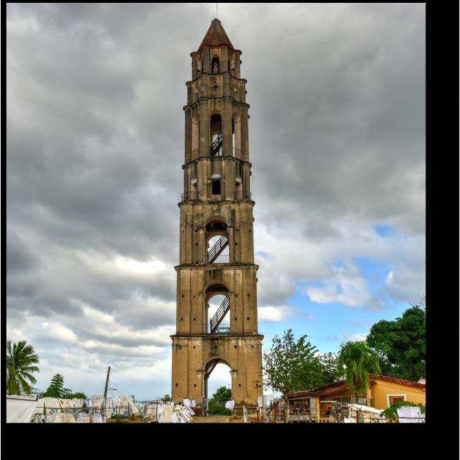 Модульная картина Старинная башня