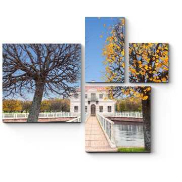 Модульная картина Осенняя прекрасная пора