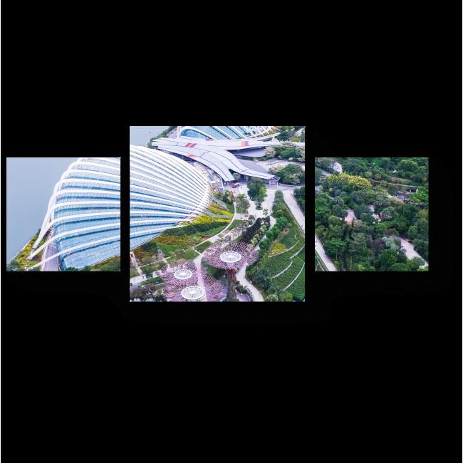 Модульная картина Невероятно красивый Сингапур