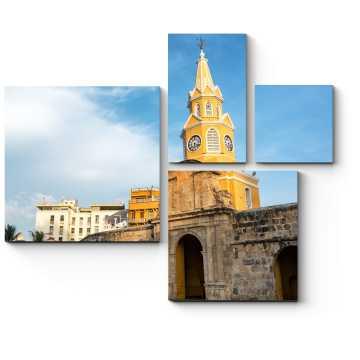 Башня с часами в Картахене, Испания