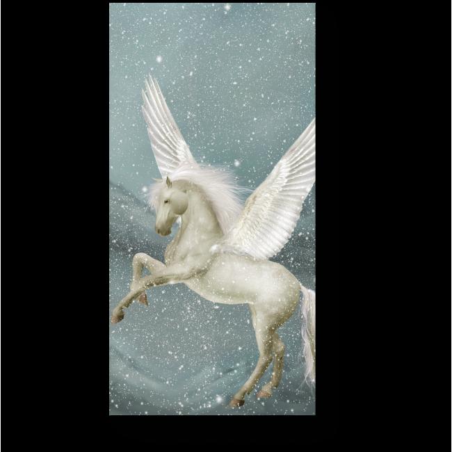 Модульная картина Снежный Пегас