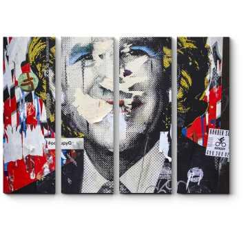 Джорд Буш в образе Мерилин Монро