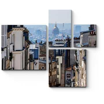 Прекрасная панорама Парижа