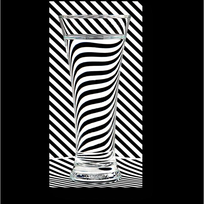 Модульная картина Зебра в стакане