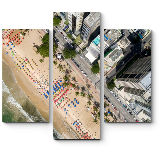 Модульная картина Бразильский пляж