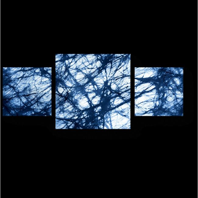 Модульная картина Роспись на ткани